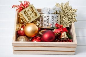 Portable Christmas Decorations In A Stylish Box